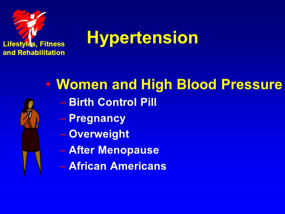 Hypertension Women and High Blood Pressure Birth Control Pill