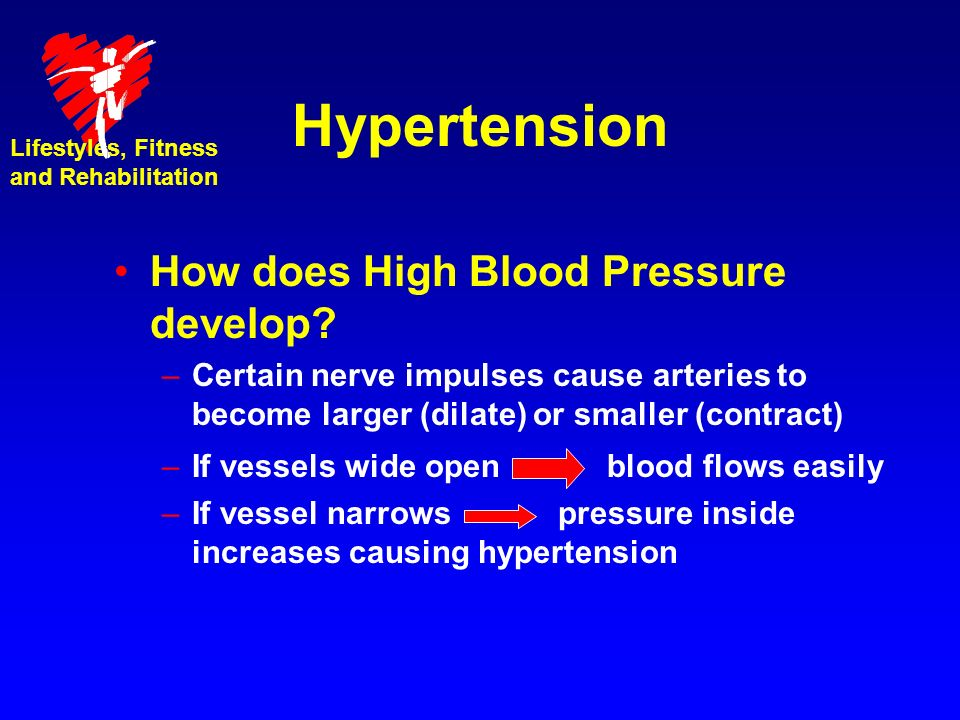 Hypertension How does High Blood Pressure develop