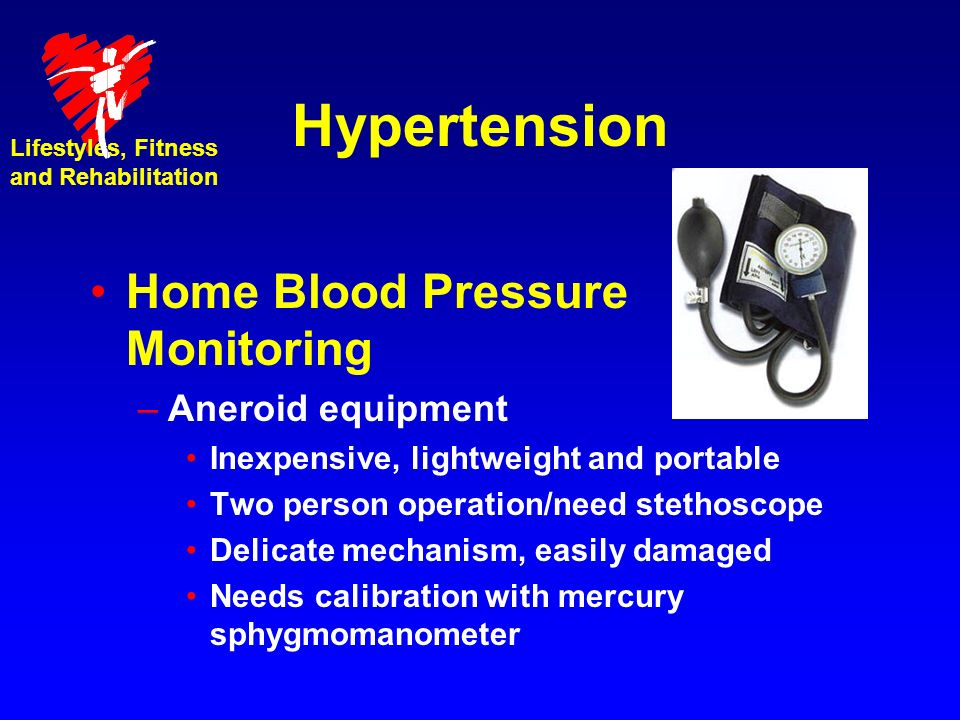 Hypertension Home Blood Pressure Monitoring Aneroid equipment