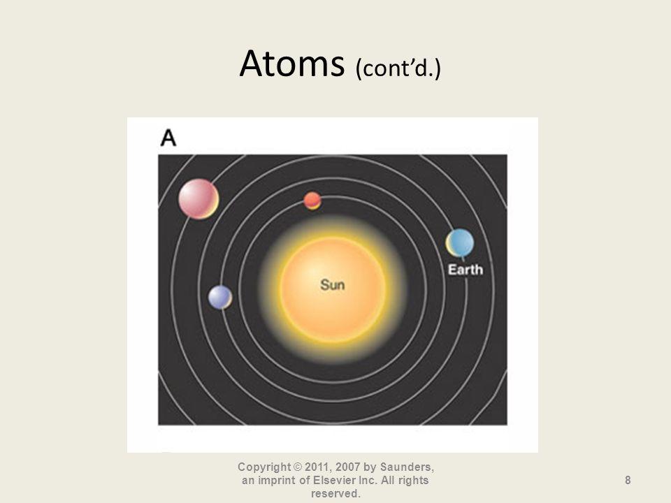 Atoms (cont'd.)