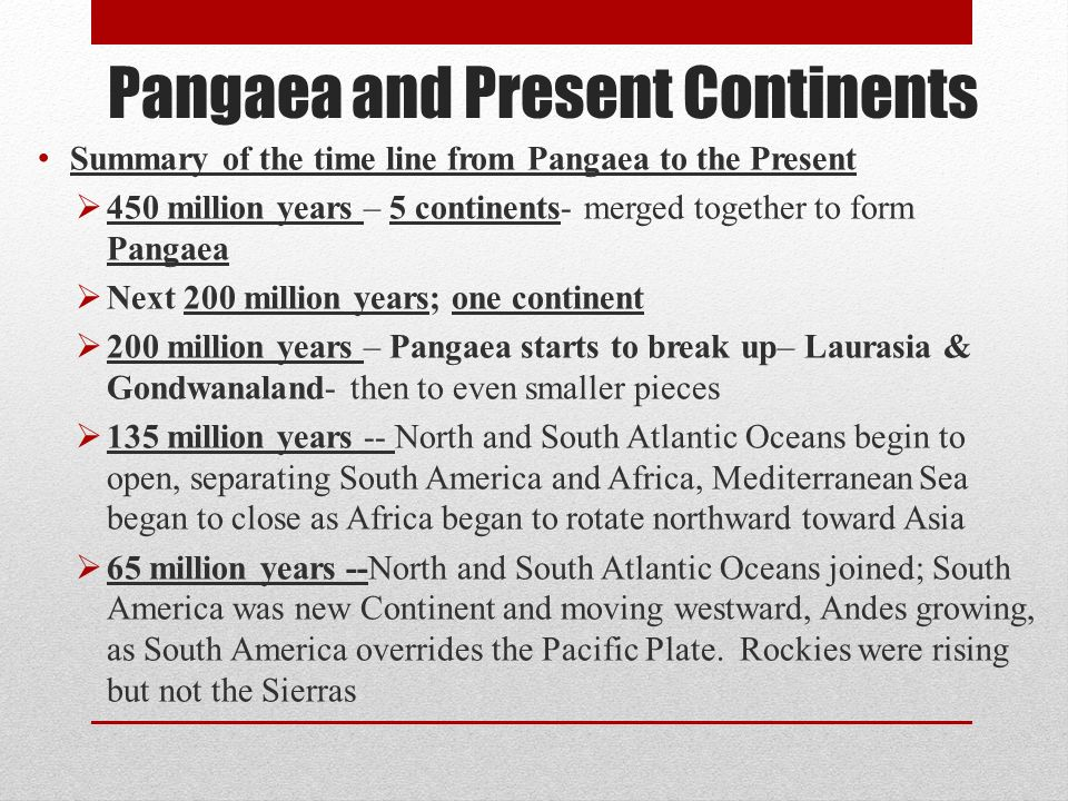 Facts About Pangaea, Ancient Supercontinent