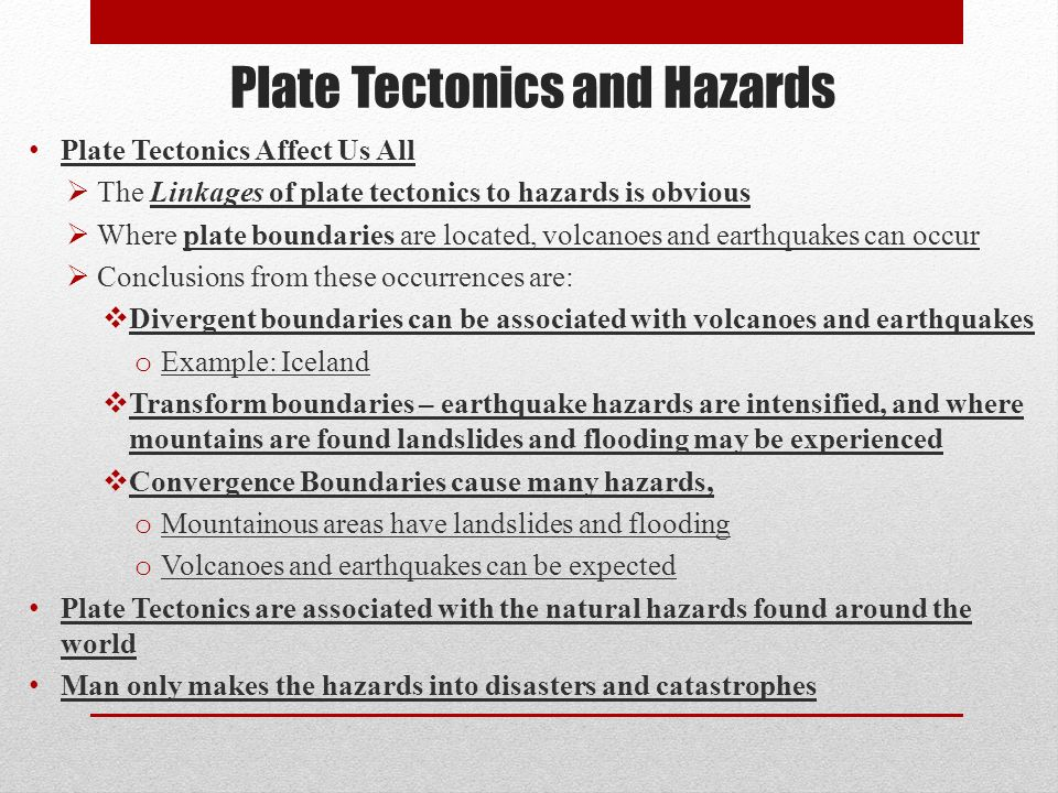 essay questions on plate tectonics Introduction: review plate tectonics and introduce six topics:  developing  research questions: have students review the questions they.