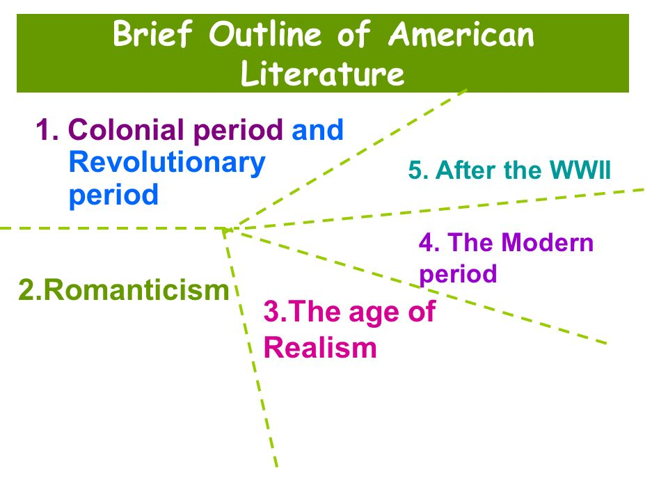 Brief Outline of American Literature