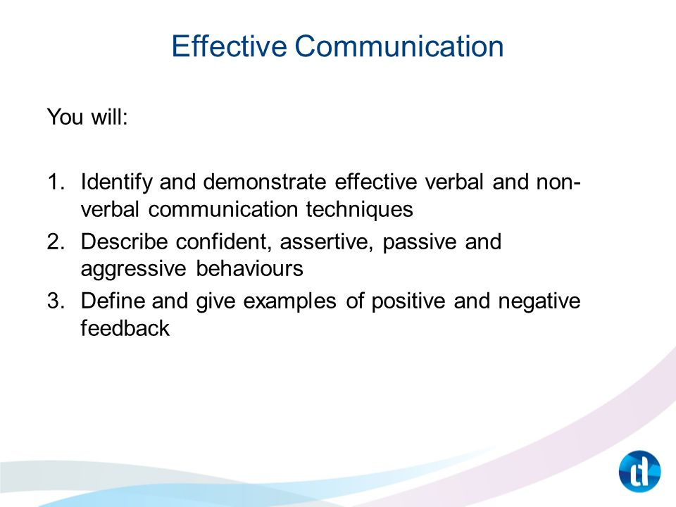 an overview of contributing factors to nonverbal components of communication Transcript of congruence between verbal & nonverbal communication verbal communication nonverbal communication environmental factors.