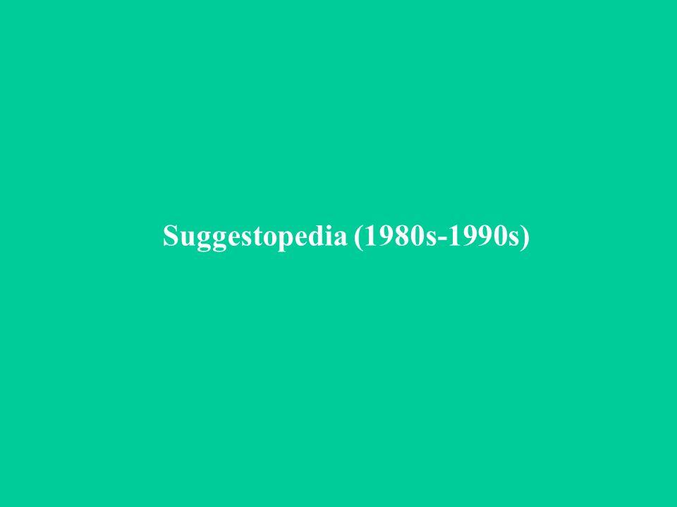 Suggestopedia (1980s-1990s)