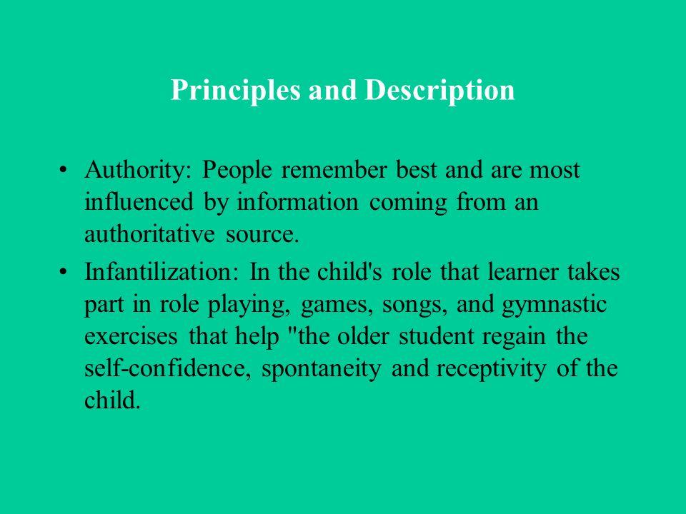 Principles and Description