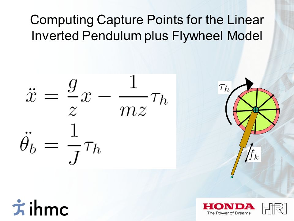 Computing Capture Points for the Linear Inverted Pendulum plus Flywheel Model