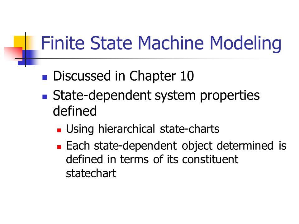 Finite State Machine Modeling
