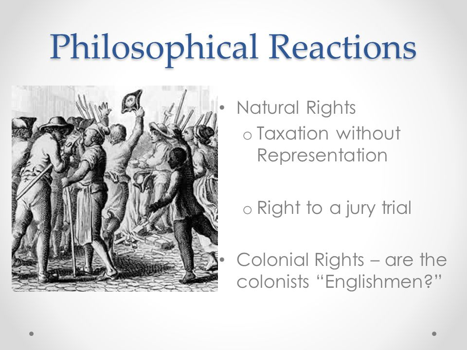 Philosophical Reactions