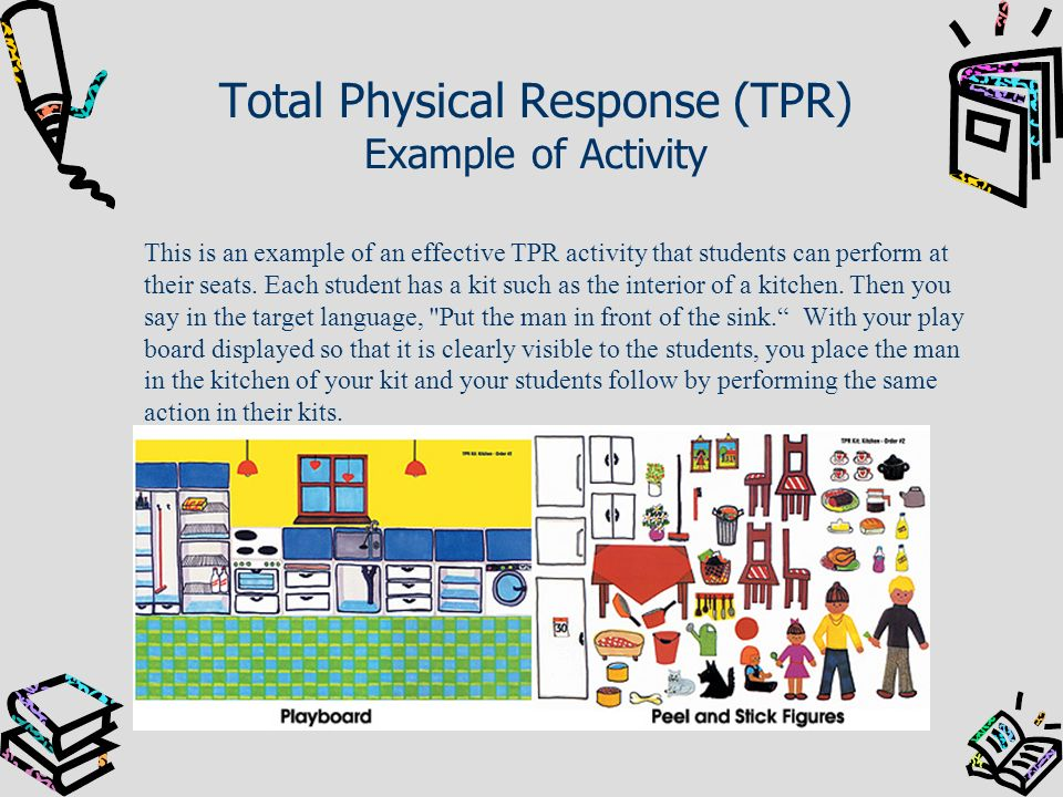 Total Physical Response (TPR) Example of Activity