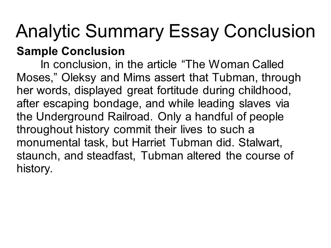 writing portfolio mr butner ppt video online  analytic summary essay conclusion