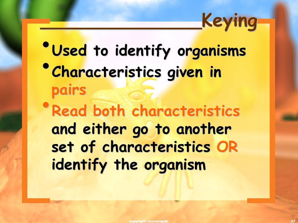 ______________Keying