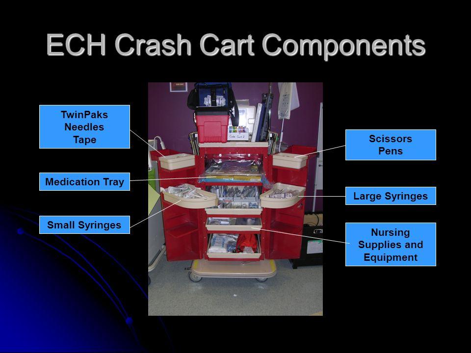 ECH Crash Cart Components