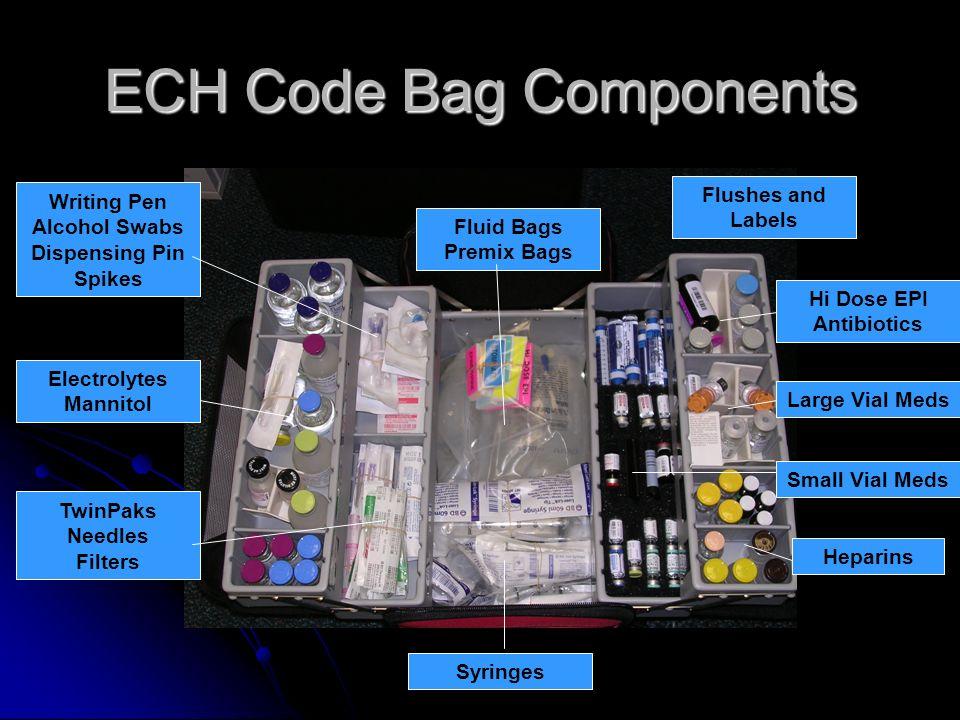 ECH Code Bag Components