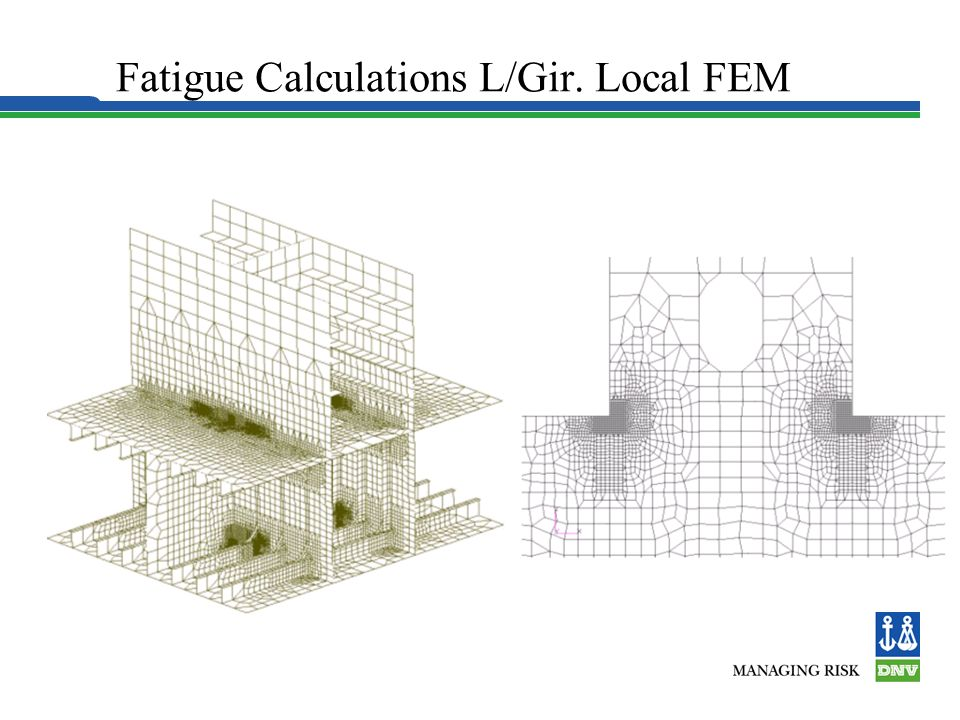Fatigue Calculations L/Gir. Local FEM