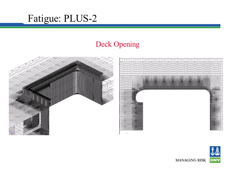 Hull Structure Fatigue: PLUS-2 Deck Opening