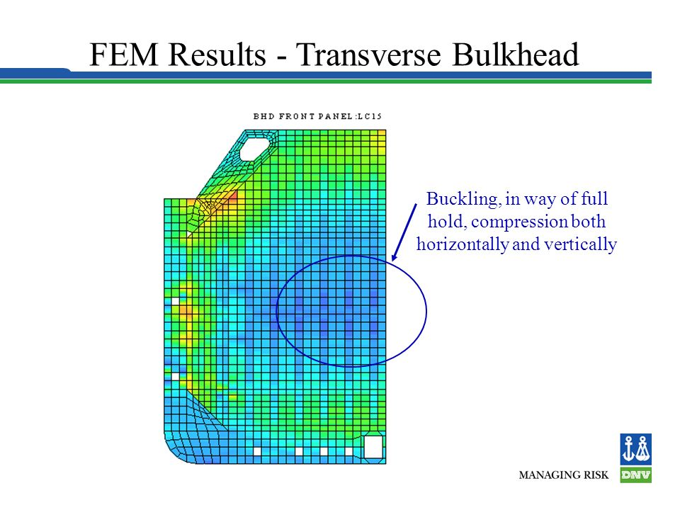 FEM Results - Transverse Bulkhead