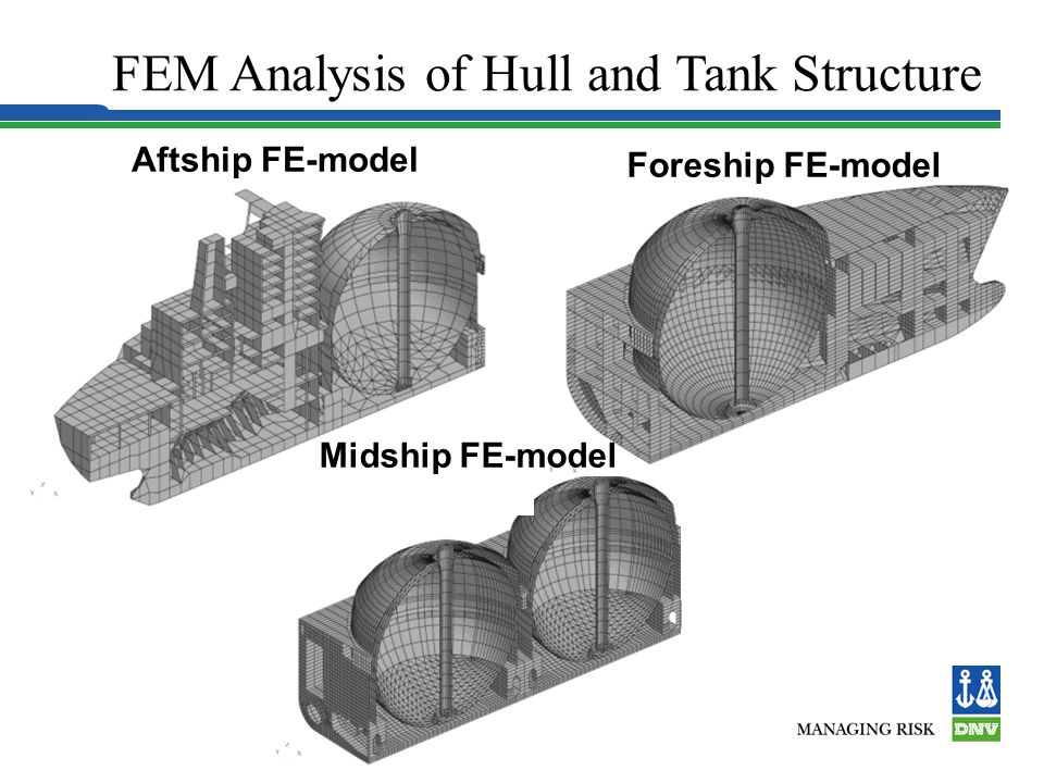 FEM Analysis of Hull and Tank Structure