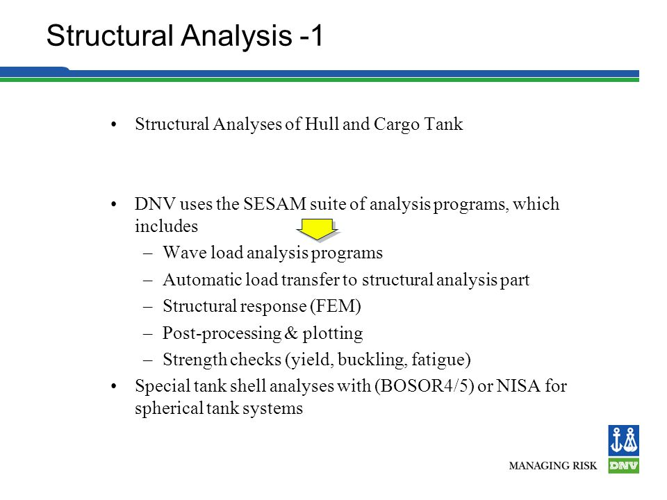 Structural Analysis -1 Structural Analyses of Hull and Cargo Tank