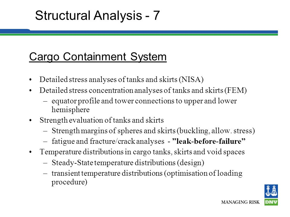 Structural Analysis - 7 Cargo Containment System