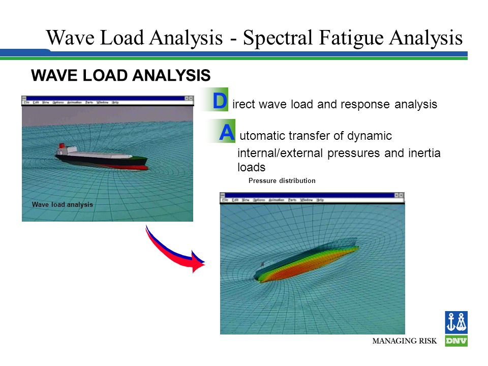 Wave Load Analysis - Spectral Fatigue Analysis
