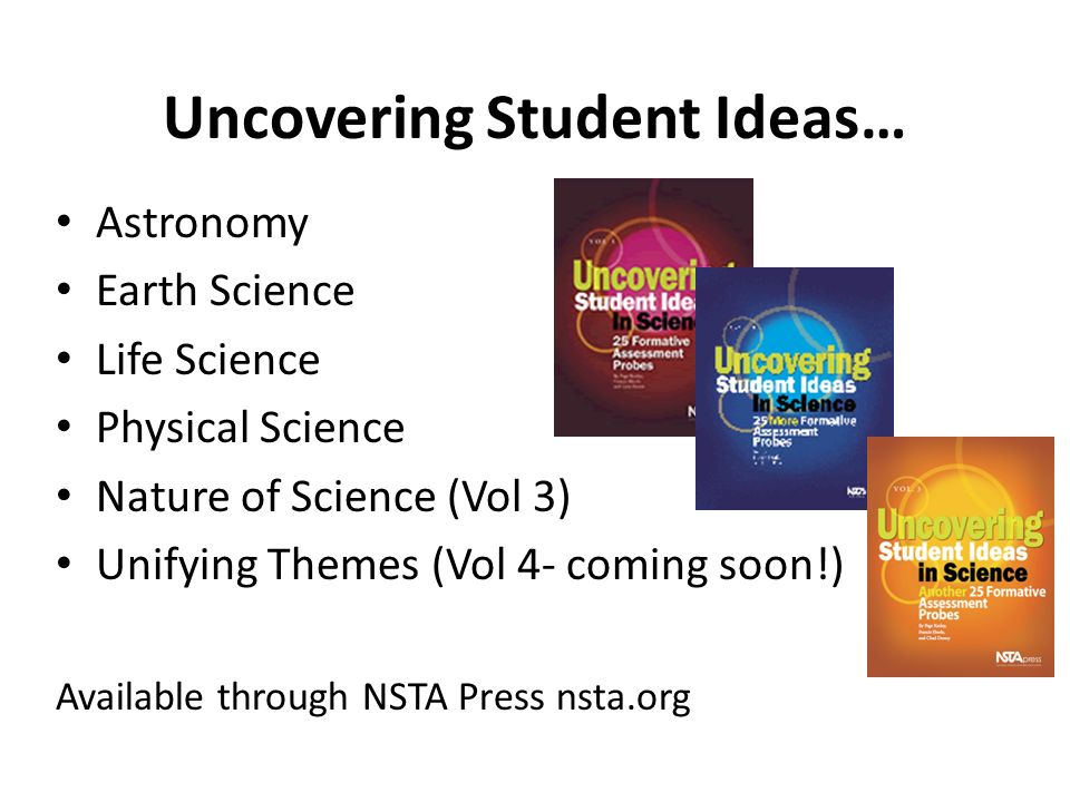 Uncovering Student Ideas…