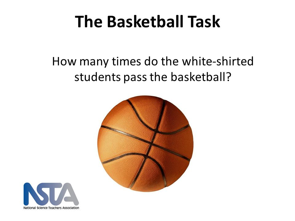 How many times do the white-shirted students pass the basketball