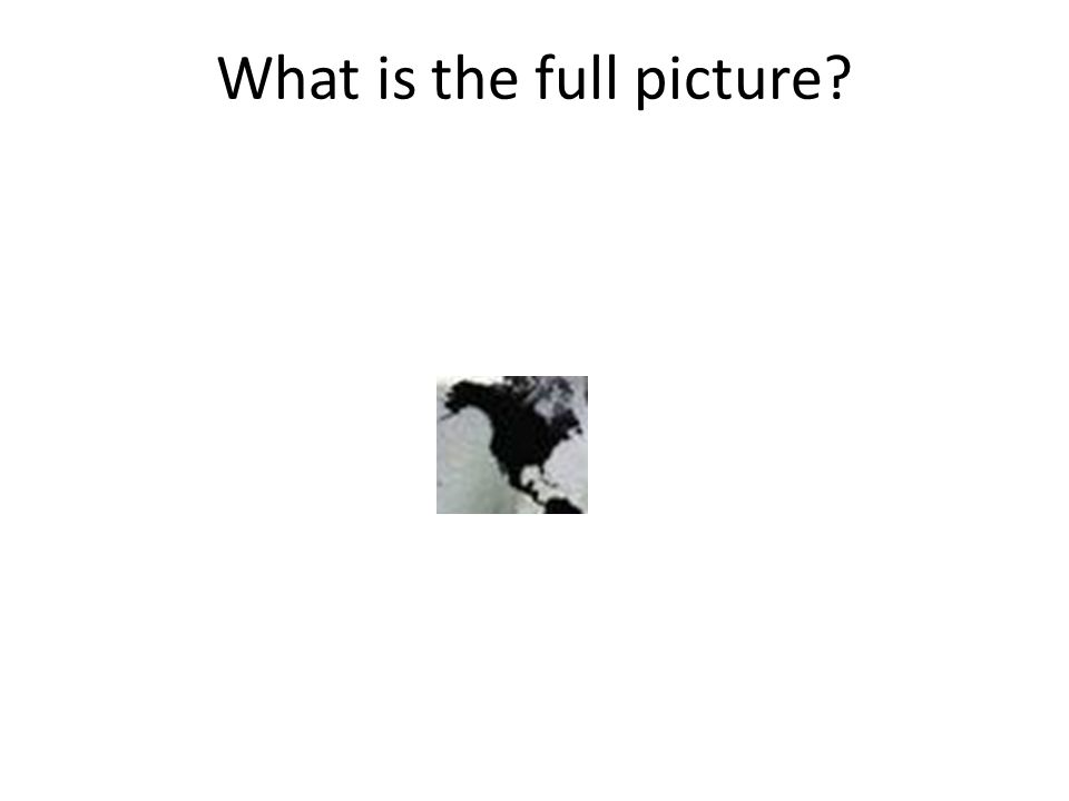 What is the full picture