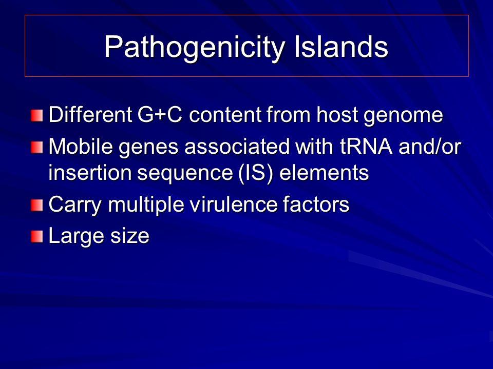 Pathogenicity Islands