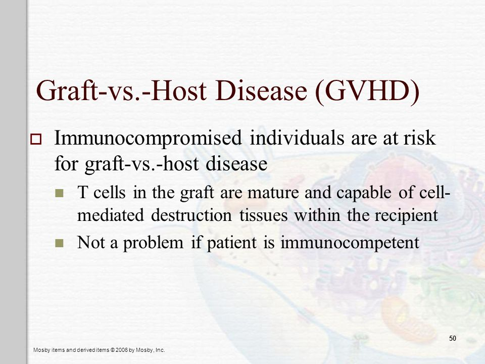 Graft-vs.-Host Disease (GVHD)