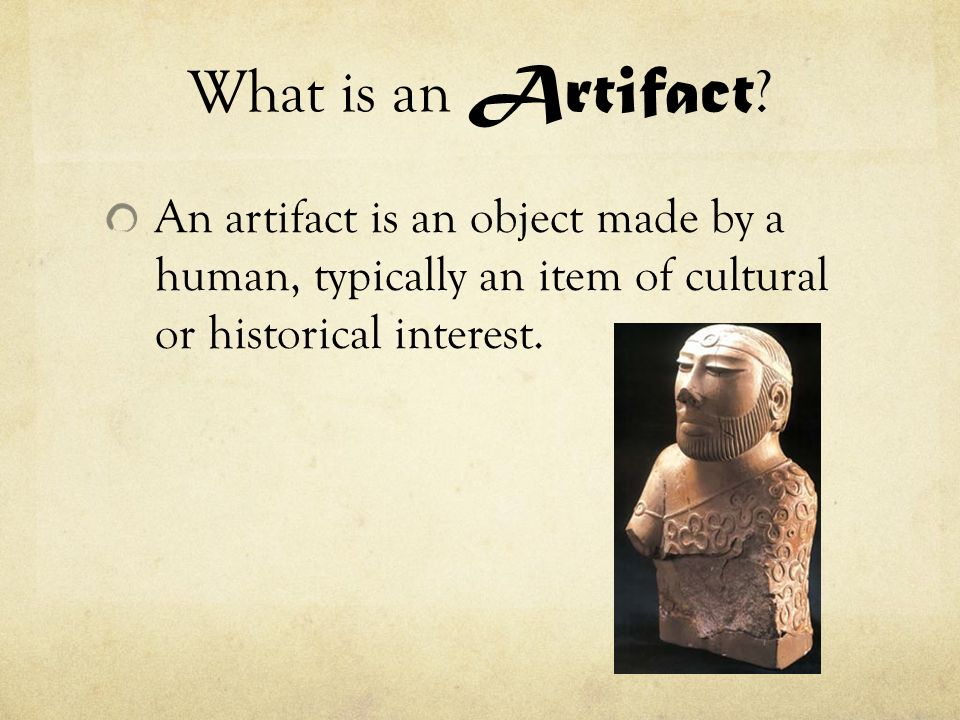 What is an Artifact.