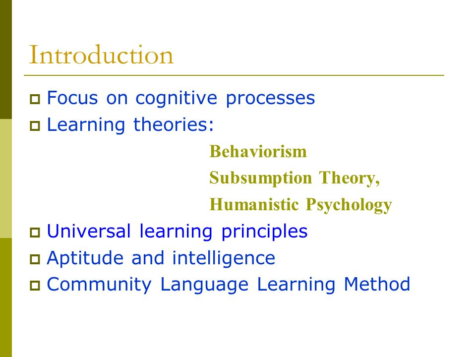 cognitive code learning method of language learning 1 learning that is concerned with acquisition of problem-solving abilities and with intelligence and conscious thought 2 a theory that defines learning as a behavioral change based on the acquisition of information about the environment .