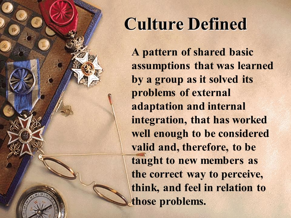Culture Defined