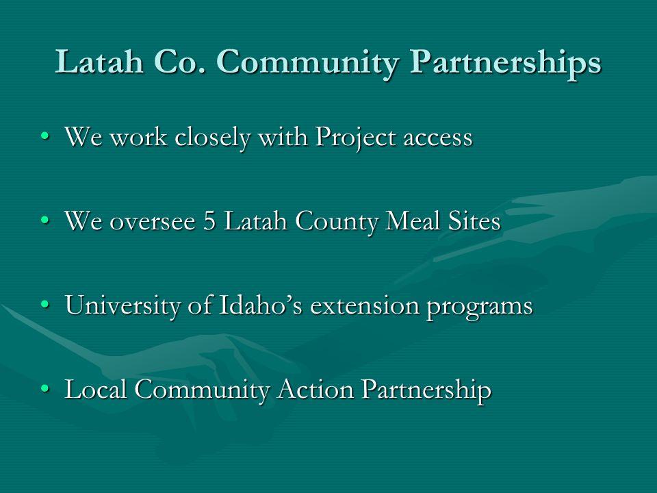 Latah Co. Community Partnerships