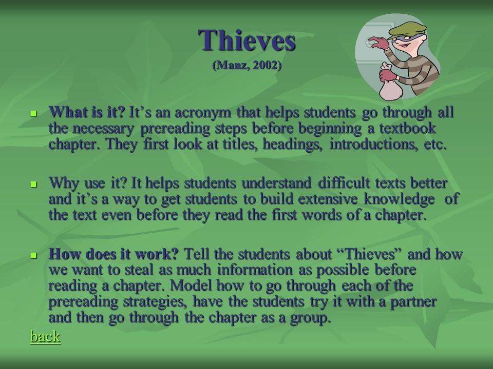 Thieves (Manz, 2002)
