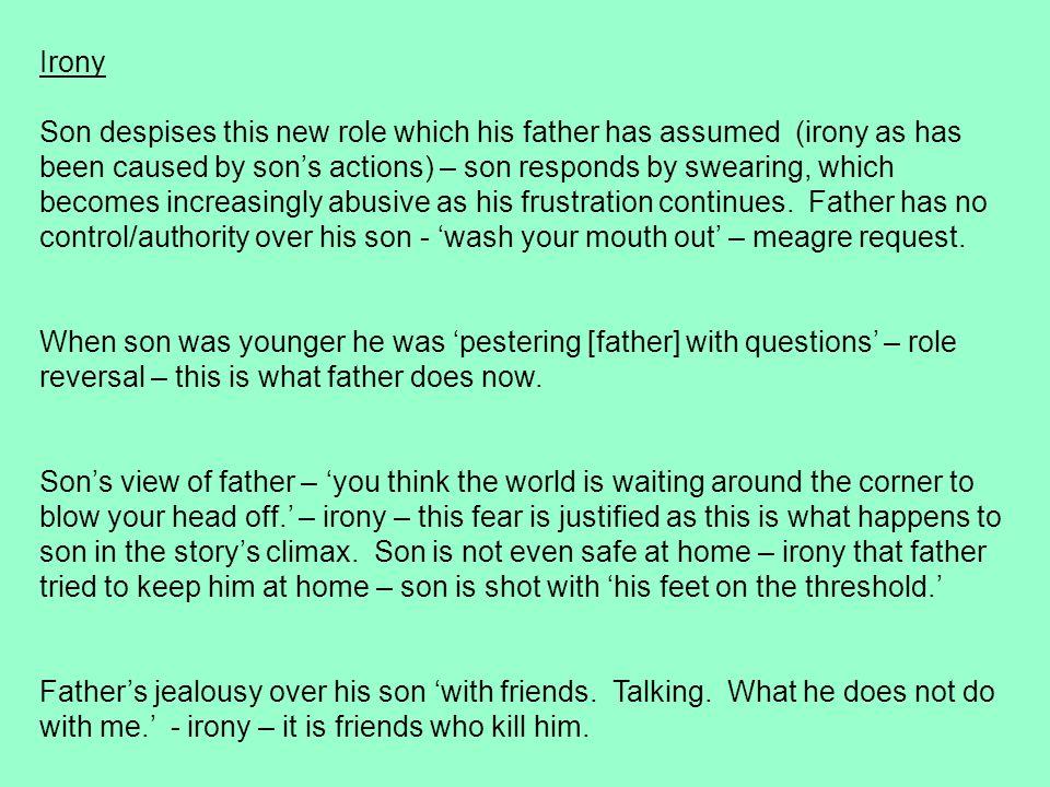 Bernard MacLaverty's short story notes?