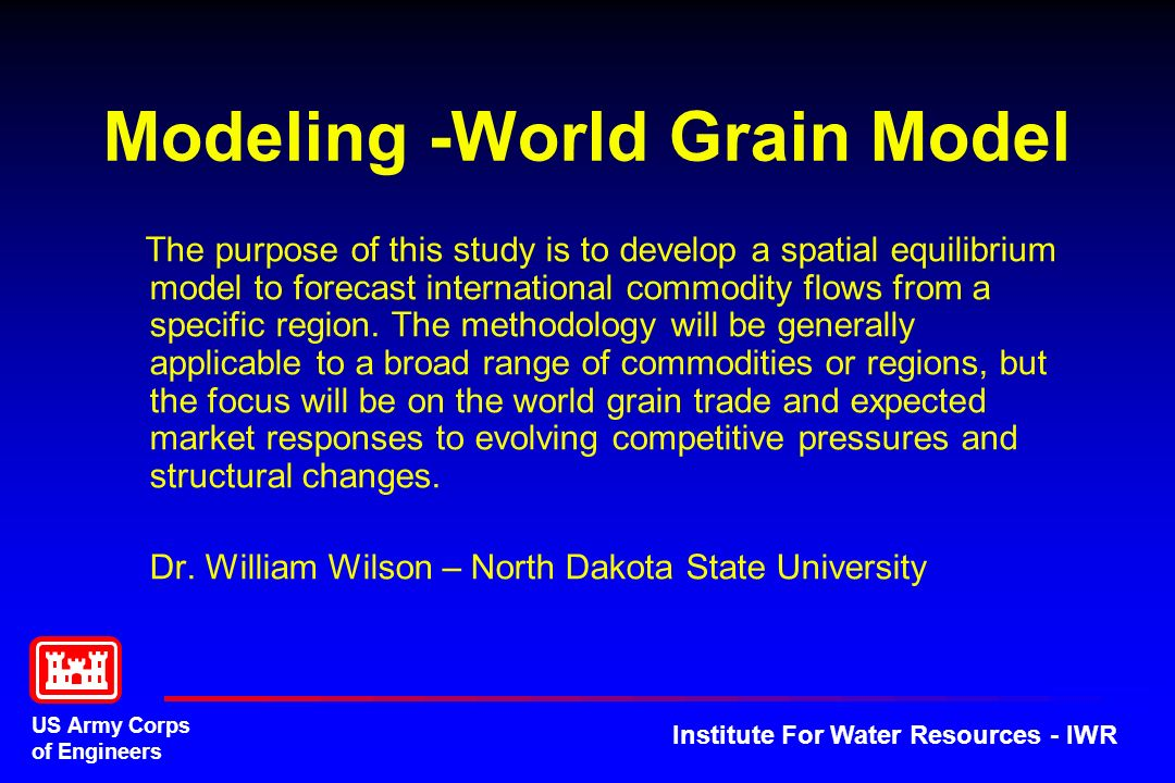 Modeling -World Grain Model