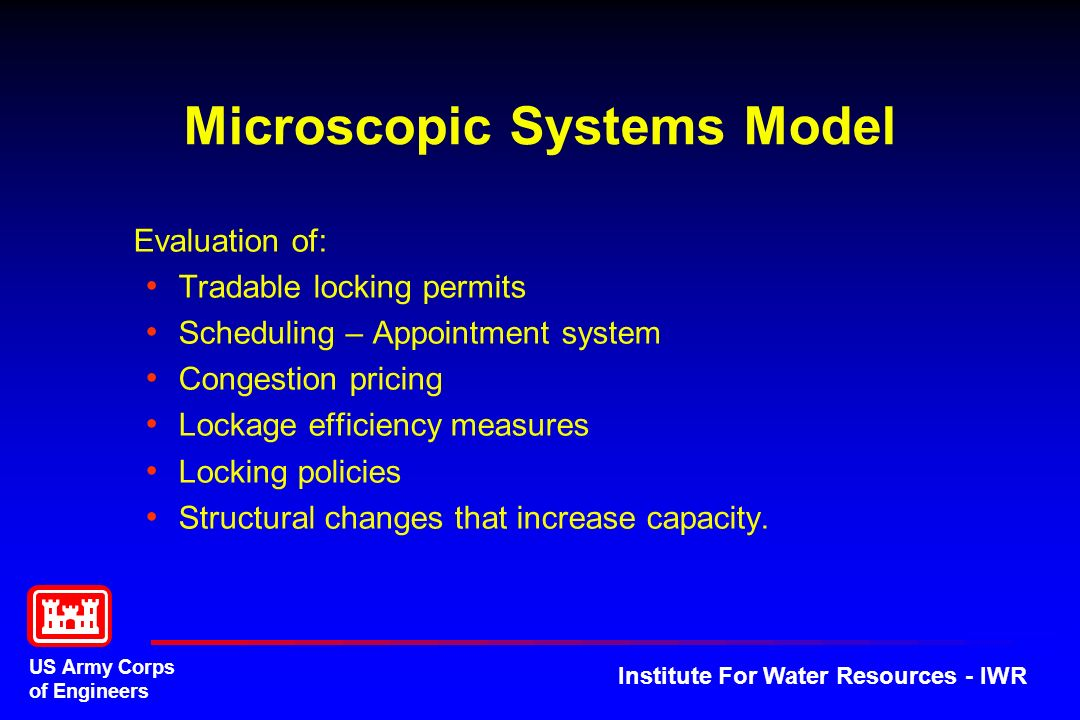 Microscopic Systems Model