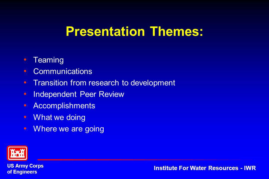Presentation Themes: Teaming Communications