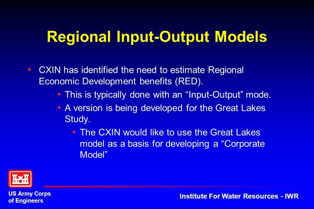 Regional Input-Output Models