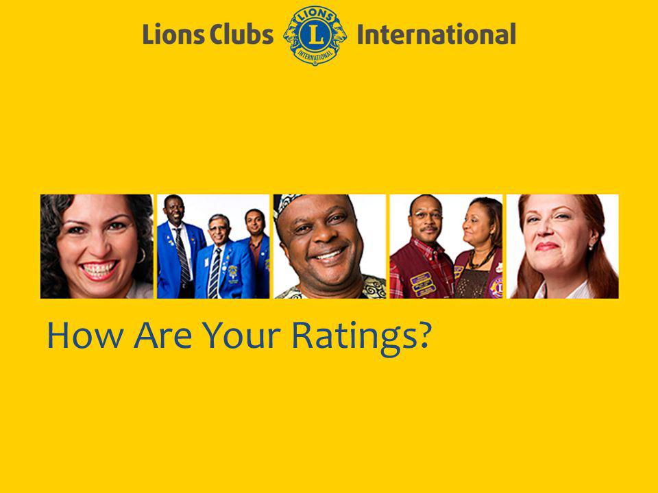 How Are Your Ratings