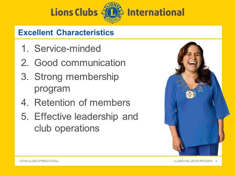 Excellent Characteristics