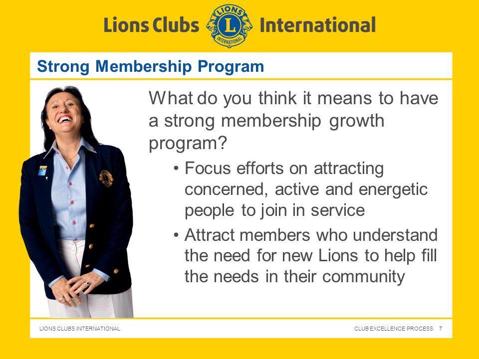 Strong Membership Program
