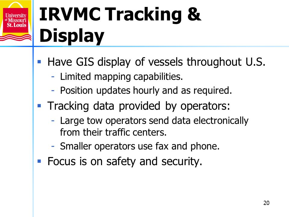 IRVMC Tracking & Display