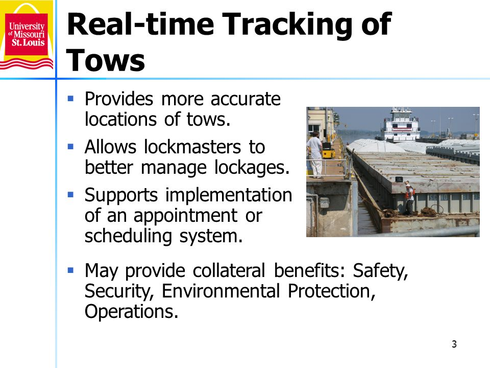 Real-time Tracking of Tows