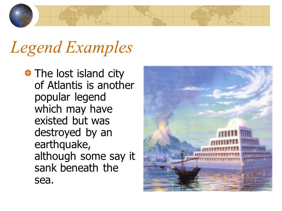 Legend Examples