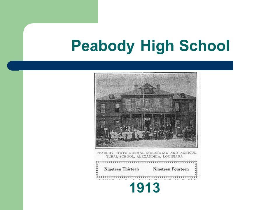 Peabody High School 1913