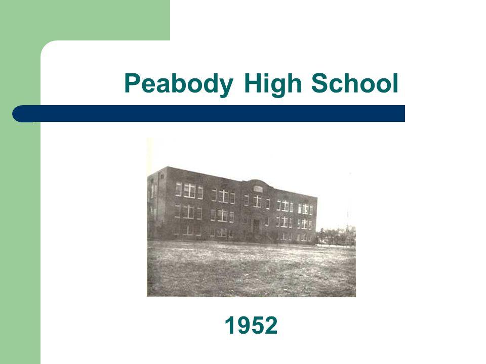 Peabody High School 1952