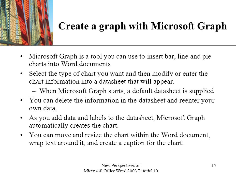 Create a graph with Microsoft Graph