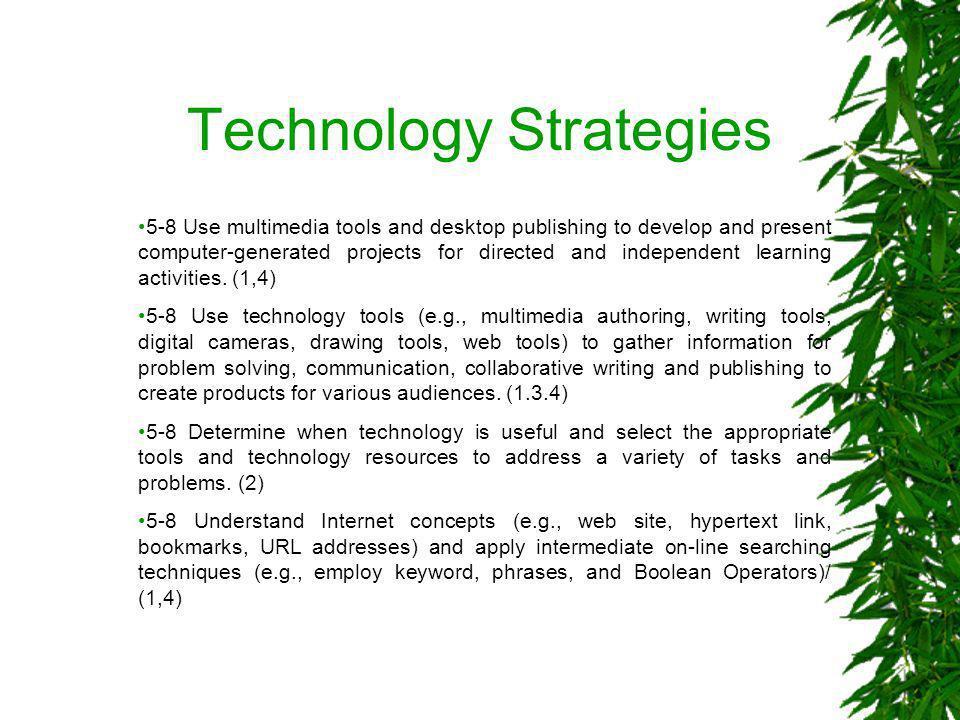 Technology Strategies
